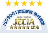JECIA五つ星取得